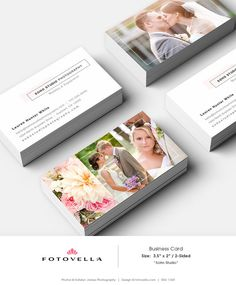 Photography Business Card Template  SOHO Studio  1369 by FOTOVELLA