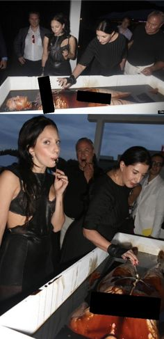 #SpiritCooking with Marina Abramovic and Lady Gaga this is normally what a Spirit dinner looks like http://ift.tt/2elORoc