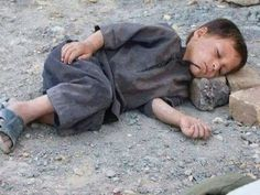 His pillow is hard, but his heart is soft. Our pillows are soft, but what about our hearts? Pray for Syrian children