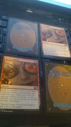 NEW 15th Edition Act on Impulse x2 plus bonus magic the gathering card(s)