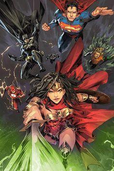 Dc Comics Superheroes, Dc Comics Art, Marvel Dc Comics, Comic Book Artists, Comic Book Characters, Comic Character, Dc Comics Collection, Dc World, Western Comics