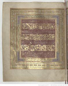 Psalterium Caroli Calvi [Psautier de Charles le Chauve].