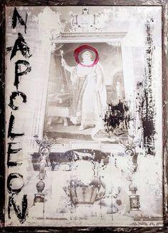 """Saatchi Art Artist Mattia Paoli; Painting, """"Napoleon"""" #art"""