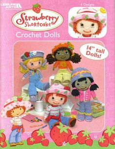 Strawberry Shortcake Crochet Dolls