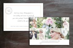 5x7 Digital Marketing Photography Template - Instant Download - m0006