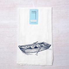 Dinghy Tea Towel