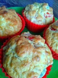 z charakterem: Pizzowe muffiny