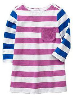 Colorblock stripe dress | Gap