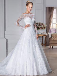 vestido de noiva renda francesa manga longa - Pesquisa Google