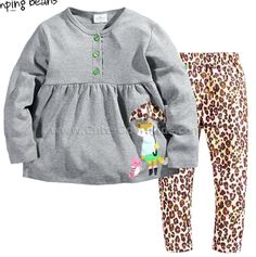 ชุดเด็ก เสื้อ กางเกงเด็กหญิง 18M 24M 3T 4T 5T 6T ~ 295.00 บาท >>
