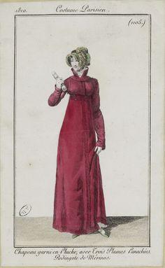Costume Parisien (1105), 1810.