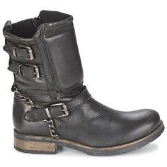 Casual Attitude SERIS Black - Ilmainen toimitus osoitteessa Spartoo.fi! ! -  kengät Bootsit 620b946445