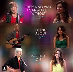 Has anyone noticed that on the episodes that he sings love songs to ally he is mostly wearing red?!?!? (The Auslly color)