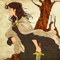 aSoIaF Lyanna Stark by ~jubah on deviantART
