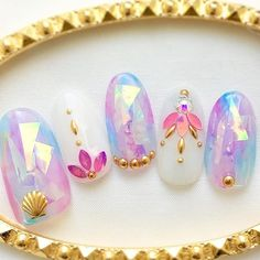 Ideas For Summer Pedicure Colors Perfect Nails Asian Nails, Korean Nails, Asian Nail Art, Summer Pedicure Colors, Summer Nails, Manicure Y Pedicure, Shellac Nails, Perfect Nails, Gorgeous Nails