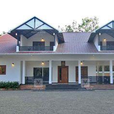 #Dreamhome #HousePlan #InteriorDesign   ഇതുപോലെ ഒരു വീട് ഞങ്ങൾക്കും വേണം; ഇത് കാണുന്നവർ കൊതിക്കുന്നു!  ...  Kerala Traditional House, Traditional Style Homes, 4 Bedroom House Designs, Bungalow House Design, Beautiful Modern Homes, Modern Contemporary Homes, Village House Design, Kerala House Design, Modern House Floor Plans