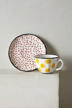 Dot Pop Cup & Saucer
