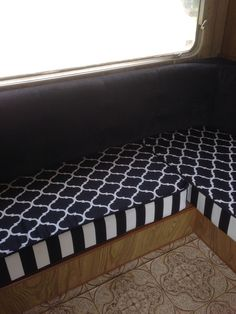 Upholstery Caravan Upholstery, Viscount Caravan, Caravan Ideas, Camping Glamping, Caravans, Boating, Rv, Skyline, Life