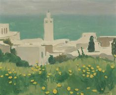 Albert Marquet - VUE DE SIDI-BOU-SAID, oil on canvas