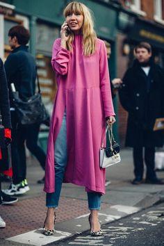 London Fashion Week Fall 2017 Street Style • Minimal. / Visual.