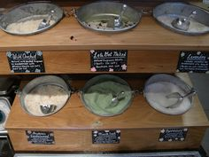 bath salt bulk display - Google Search