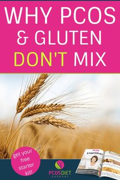 Can you have gluten on a PCOS diet? Gluten can cause inflammation, hormone disruption and is usually high in carbohydrates. Learn more about why you should avoid gluten for your PCOS symptoms. Fast Weight Loss Diet, Easy Weight Loss, Best Diet For Pcos, Pcos Cure, Treatment For Pcos, Pcos Symptoms, Gluten Free Diet, Dairy Free, Hacks