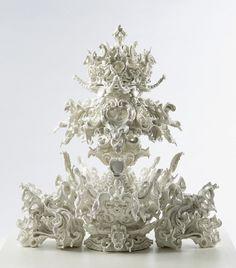 Katsuyo Aoki Loom, 2014 Porcelain H 750 x D 650 X W 650mm