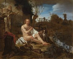 A Hunter Getting Dressed after Bathing, c. 1654-1656