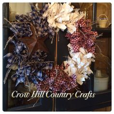Wreath at Crow Hill Country Crafts