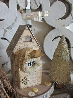 One Lucky Day: Artful Christmas Village