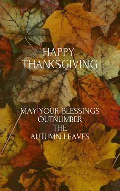 Thank you all lovely friends for the amazing continuon work here. And have blessed Thanksgiving family day!