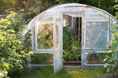 A small greenhouse is not for any kind of gardening. But they are very handy for a few purposes. Like seed starters. Small Greenhouse is mostly used as a Build A Greenhouse, Greenhouse Growing, Greenhouse Gardening, Greenhouse Ideas, Greenhouse Vegetables, Serre Pvc, Clean Out Drain, Wooden Greenhouses, Easy Vegetables To Grow