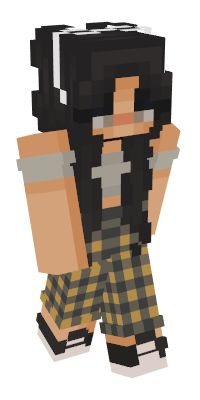Check out our list of the best Girl Minecraft skins. Minecraft Skins Female, Minecraft Skins Cute, Minecraft Skins Aesthetic, Cool Minecraft Houses, Creeper Minecraft, Minecraft Buildings, Capas Minecraft, Easy Minecraft Cake, Minecraft Games