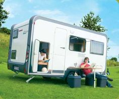Modern Camper: DESEO  Can tow with Volvo or VW  Costs at $15,000 Euro