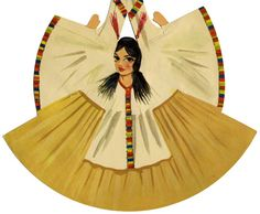 Vintage Mexican Paper Dolls  (9 of 17)