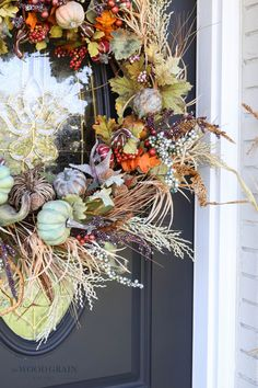Our front porch might be small, but it sure does look good dressed up for fall! Find out exactly how to recreate this look and set the tone for the season. #fall #frontporch #falldecor #fallporch Front Porch, Fall Decor, Nice Dresses, Diy Home Decor, Seasons, Projects, Inspiration, Log Projects, Biblical Inspiration