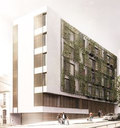 Terradas Arquitectos > Edificio de viviendas en Via Augusta, Barcelona   HIC Arquitectura