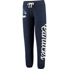 Vancouver Canucks G-III by Carl Banks Women's Scrimmage Pants - Blue Vancouver Canucks, Jogger Pants, Joggers, Sweatpants, Nhl, Pajama Bottoms, National Hockey League, Olympic Games, Workout Pants