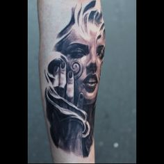 Check out this #tattoo done by Carlos Torres Art at the Zwickau Tattoo Expo! See…