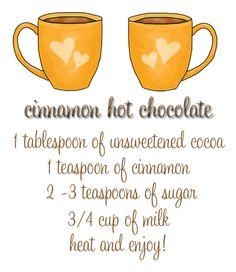 Cinnamon Hot Chocolate - Lipgloss and Crayons