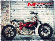 DUCATI#MONSTER#STREET TRACKER#DUCATI SCRAMBLER#SPECIAL MOTORCYCLES#OLD SCHOOL GARAGE-TRIESTE