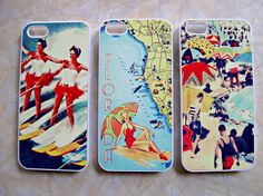 iPhone 5 Case  VintageBeach, $22.00