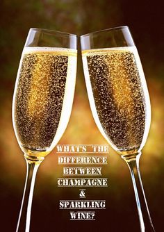 What's the difference between Champagne and Sparkling Wine and Prosecco and Cava?! All your questions answered!