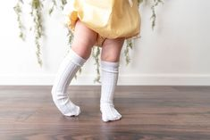 White Knee High Socks, Big Kids, Cable Knit, Little Girls, Infant, Cotton, Outfits, Clothes, Shopping
