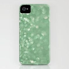 Seafoam bokeh iPhone Case by Laura Ruth  | Society6