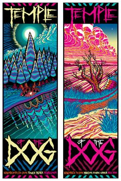 Brad Klausen Temple of The Dog Philadelphia And New York Posters Release