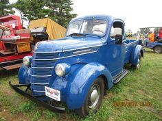 Beautiful blue 1939 International D2 pickup truck
