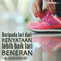 Lari beneran akan lebih bermanfaat