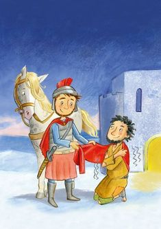 Hl Martin, Activities For Kids, Saints, Illustration, Drawings, Pictures, Painting, Fictional Characters, Google