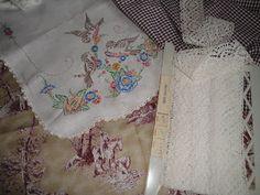 Vintage Linen Treasures: Vintage Linens